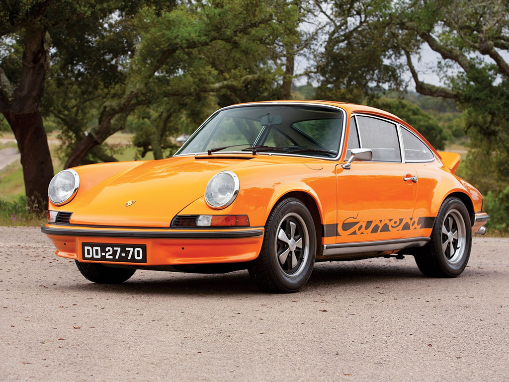 1973 Porsche 911 Carrera RS 2.7Touring - Sold for 602 375.