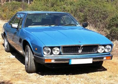 1975 Maserati Kyalami Époqu'Auto 2019.