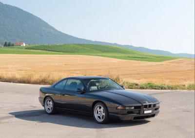 1989-1999-BMW 850 CSi @Tim Wood Époqu'Auto 2019.