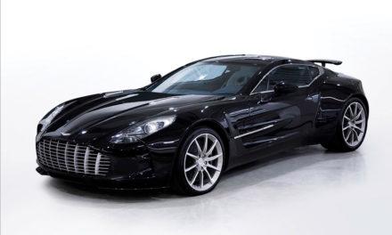 Abu Dhabi | Vente d'une Aston Martin One-77 en faveur d'Auction4Wildlife