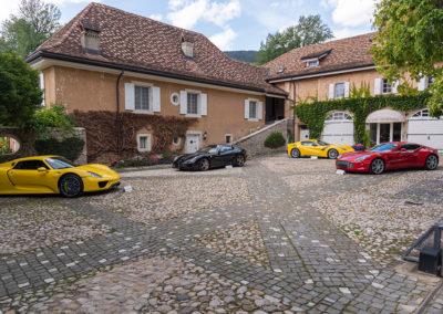 2015 Porsche 918 Spyder - 2011 Ferrari 599 Aperta - 2015 Ferrari F12tdf Berlinetta - 2011 Aston Martin One-77 Coupé
