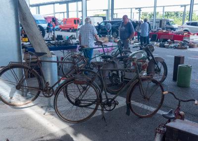 Anciens vélos et ancienes motos à BROCMobile 2019