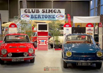 Club Simca Bertone Simca 1200 S et Simca 1000 à Historic Auto.