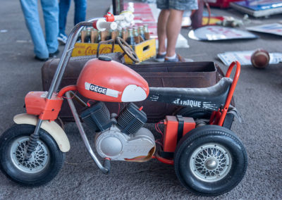 Gégé la mini moto électrique pour enfant