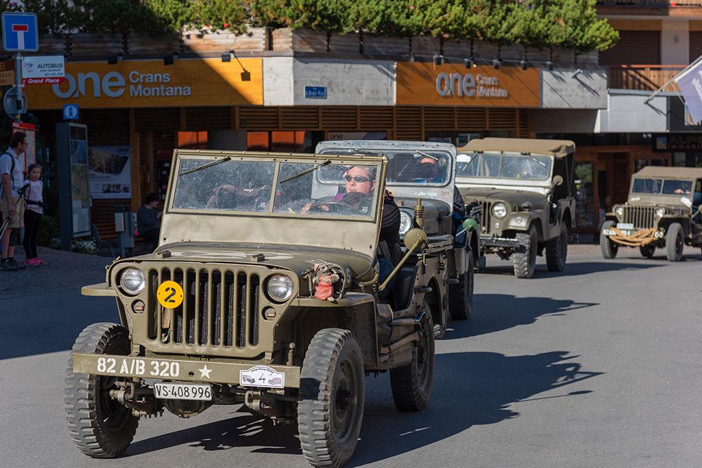 La Parade, Willys ou Ford GPW, il y en a pour tous les goûts.