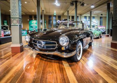 Motorclassica Melbourne 2019 - Prix Classique Après-Guerre Cabriolet - 1956 Mercedes-Benz 190 SL Roadster.