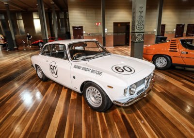 Motorclassica Melbourne 2019 - Prix Classique au-dessous de 3 litres 1965 Alfa-Romeo 105 GTA Stradale.