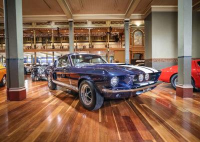 Motorclassica Melbourne 2019 - Prix Classique au-dessus de 3 litres - 1967 FORD GT500 Shelby Mustang.