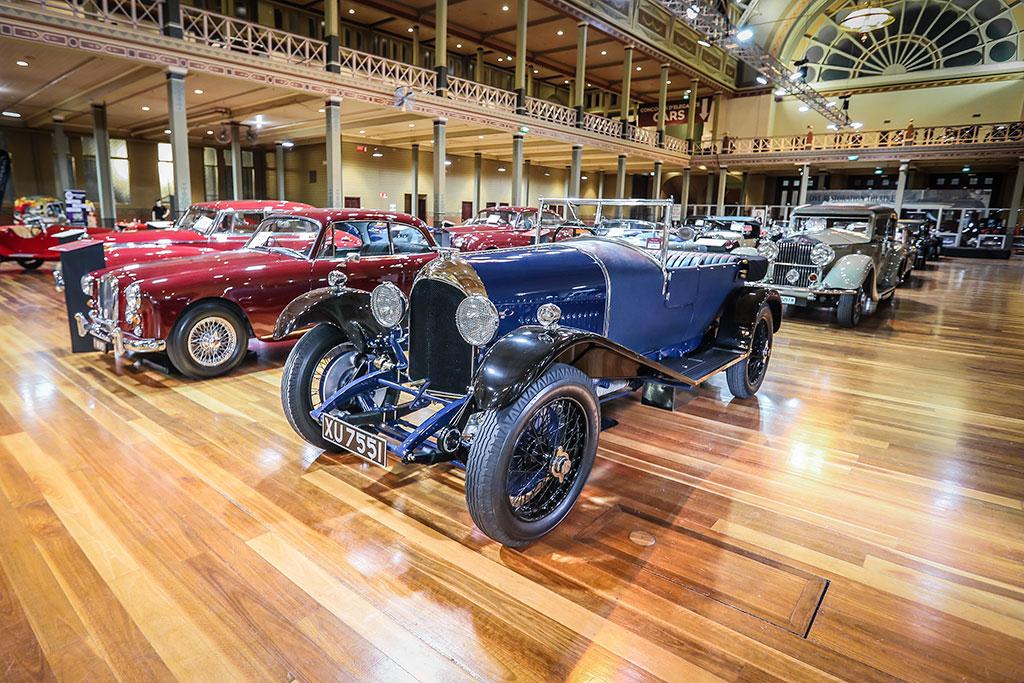 Motorclassica Melbourne 2019 - Prix de la restauration de l'année - 1924 Bentley Speed 3-Litre.