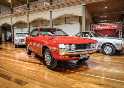 Motorclassica Melbourne 2019 - Prix du Public - 1971 Toyota GT Celica Coupé.