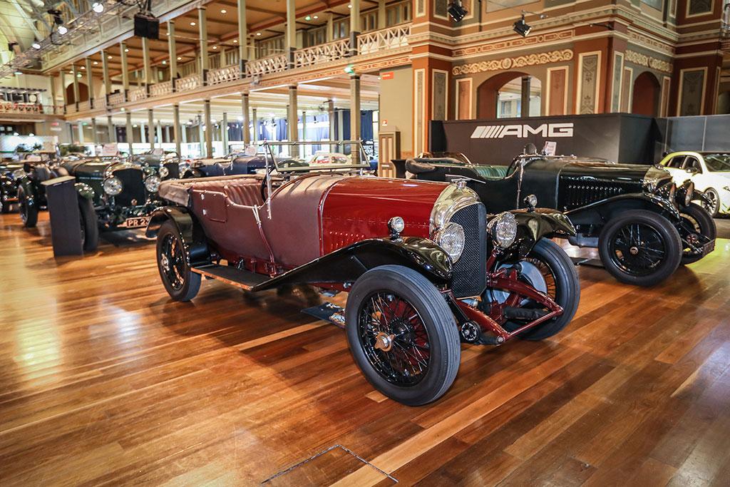 Motorclassica Melbourne 2019 - 100 ans de Bentley -1928 Bentley 3-litre Speed Red Label 4-Seater Open Tourer.