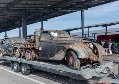 Peugeot nécessitant une grande restauration
