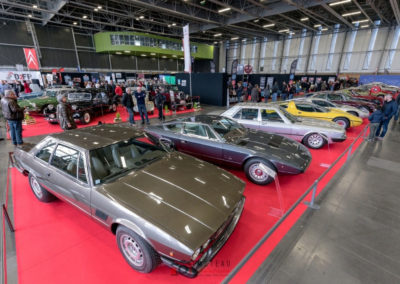 Une magnifique lignée de différentes Maserati à Historic Auto.