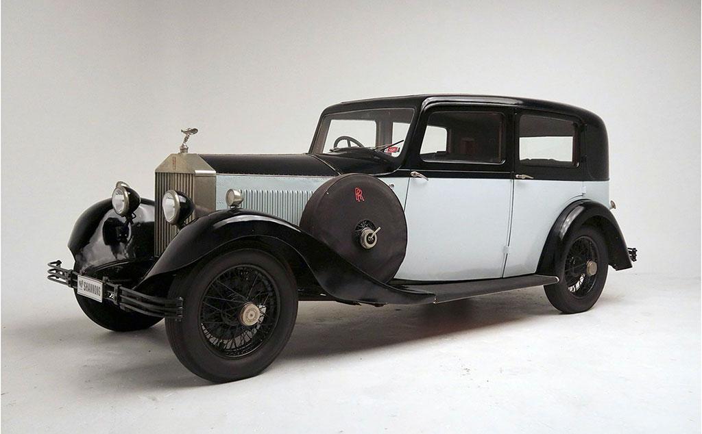 1929 Rolls-Royce 20:25 Saloon estimation AUD 45,000-55,000.