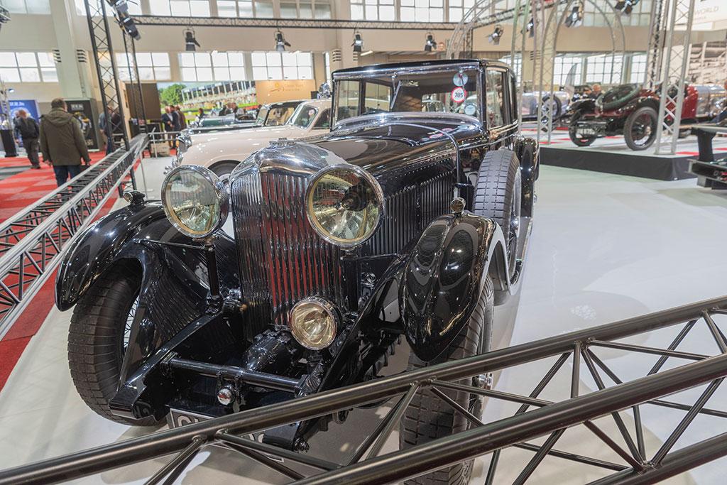1930 Bentley 8 Liter - 100 ans de Bentley à InterClassics Brussels 2019.