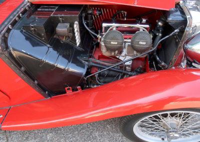 1947 MG TC Roadster moteur estimation AUD 30,000-40,000.