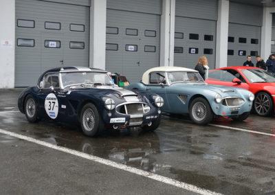 1959-1964 Austin-Healey 3000 au départ du Rallye de Paris 2019.