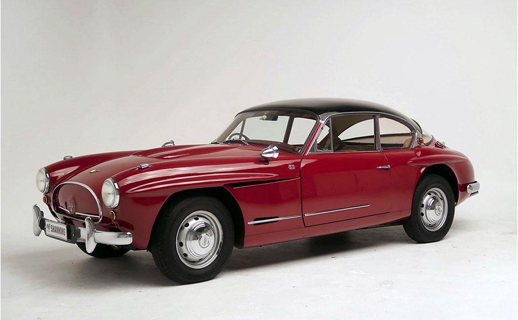 1959 Jensen 541R Coupé rare et originale deux exemplaires en Australie estimation AUD 60,000-75,000.