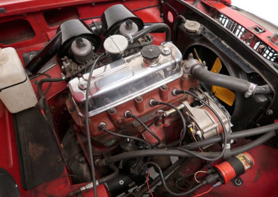 1963 MGB Mk1 Series 1 Roadster moteur estimation AUD 16,000-20,000.