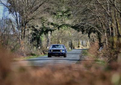 1964-1970 Ford Mustang Génération 1 lors du Rallye de Paris 2019.