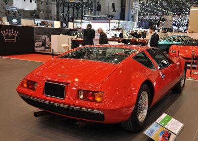 1970 Monteverdi hai 450 SS vue arrière au salon de Genève 2017
