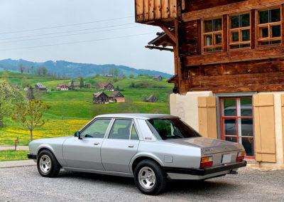 1977-1982 Monteverdi Sierra vue trois quarts arrière gauche