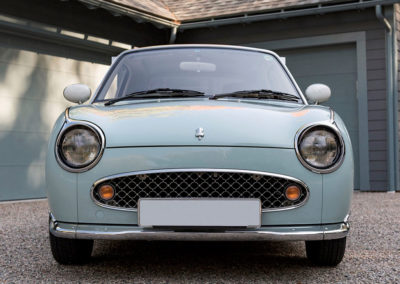 1991 Nissan Figaro vue de face.
