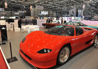 1993 Monteverdi hai 650 F1 coque en kevlar moteur ford V8 3500cc 650 chevaux