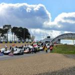 Rallye de Paris   Départ du circuit Bugatti au Mans
