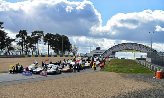 Rallye de Paris | Départ du circuit Bugatti au Mans