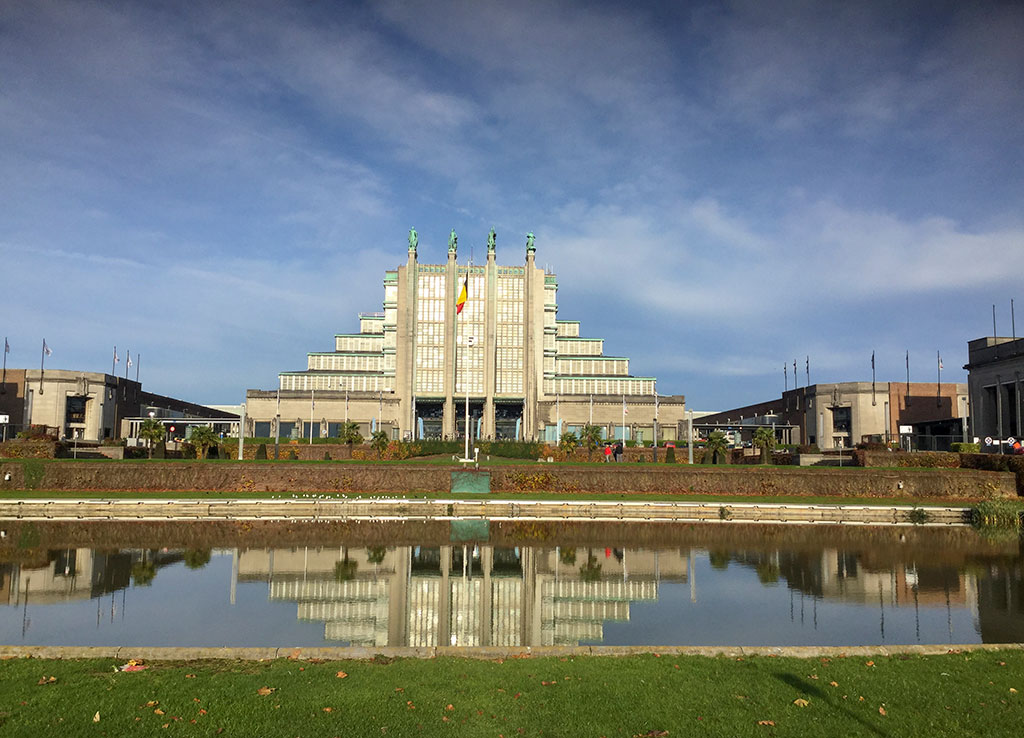 Brussels Expo et ses 12 Palais.