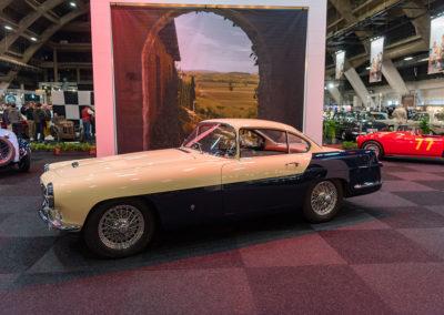 1955 Jaguar XK 140 vue latérale côté gauche - Carrozzeria Ghia