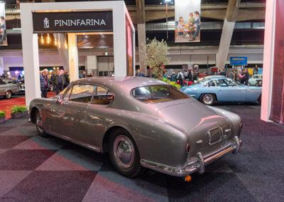 1950 Alfa Romeo 6C 2500 Sport vue trois quarts arrière gauche - Carrozzeria Pininfarina.