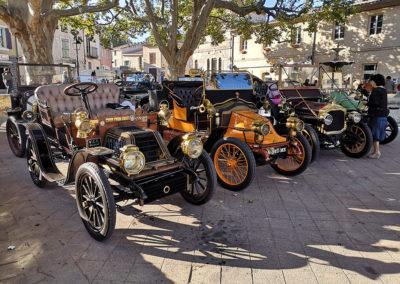 Repos bien mérité pour la Farandole des Ancêtres à Meynes dans le Gard