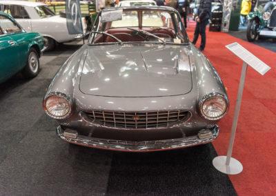 1962 Fiat 1600 S OSCA Fissore Coupé face avant - COG Classics