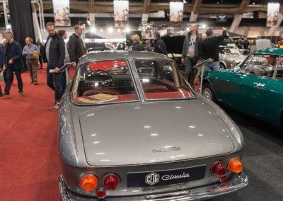 1962 Fiat 1600 S OSCA Fissore Coupé vue coffre et lunette arrière - COG Classics