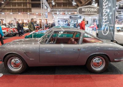 1962 Fiat 1600 S OSCA Fissore Coupé vue latérale côté gauche - COG Classics