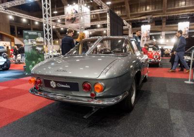 1962 Fiat 1600 S OSCA Fissore Coupé vue trois quarts arrière droit - COG Classics