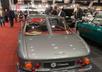 1962 Fiat 1600 S OSCA Fissore Coupé zoom sur coffre et lunette arrière - Collectors