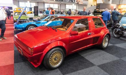 Sbarro Super Eight de 1984 | Nous l'avons retrouvée à Bruxelles