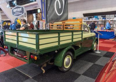 Fiat Pickup vue trois quarts arrière droit - Collectors