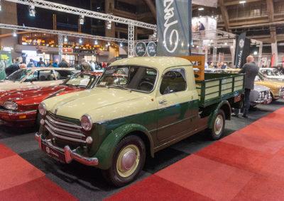 Fiat Pickup vue trois quarts avant gauche - Collectors