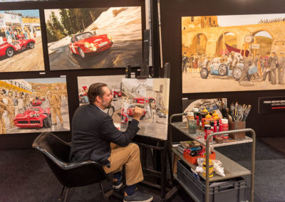 Fries Reyntjens - peintre automobile - Automobilia.