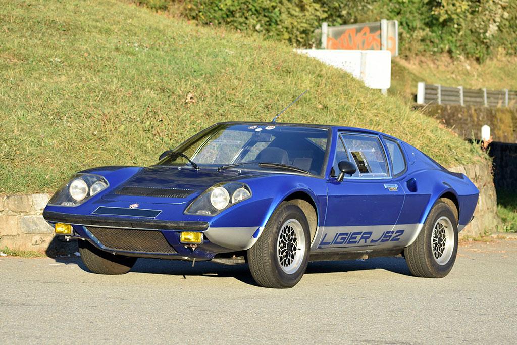 1974 Ligier JS2 fête son 50e anniversaire à Avignon Motor Festival.