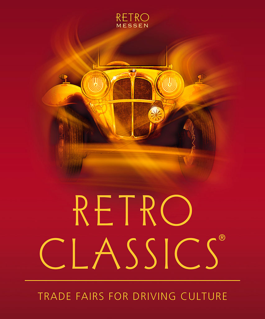 Affiche Retro Classics Stuttgart