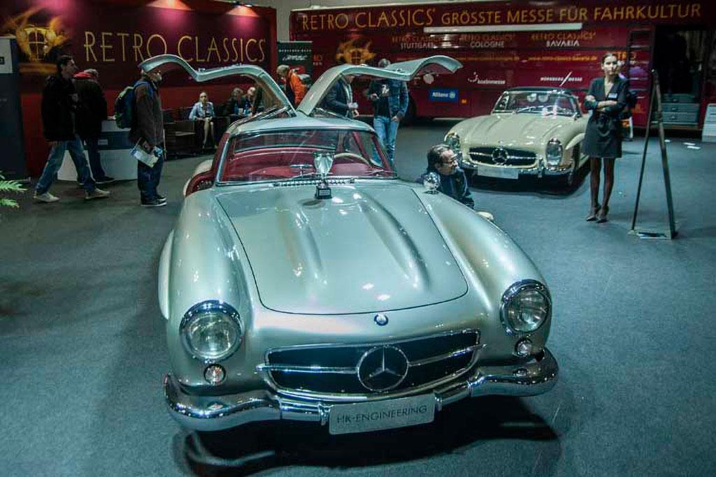 Mercedes-Benz 300 SL HK-Engineering Zürich - Retro Classics Stuttgart.