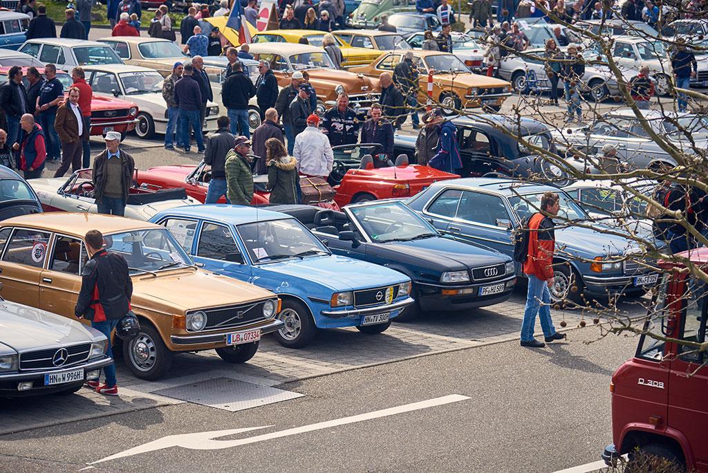 Retro Classics Stuttgart Parc des véhicules d'occasion