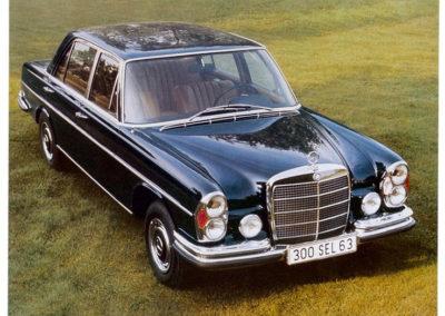 1968-1972 Mercedes-Benz 300 SEL 6.3 - Publicité Mercedes-Benz AG