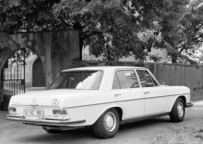 1969 Mercedes-Benz 300 SEL en comparaison de la 300 SEL 6.3.