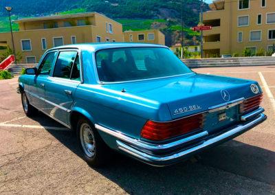 1976 Mercedes-Benz 450 SEL en comparaison de la 450 SEL 6.9.